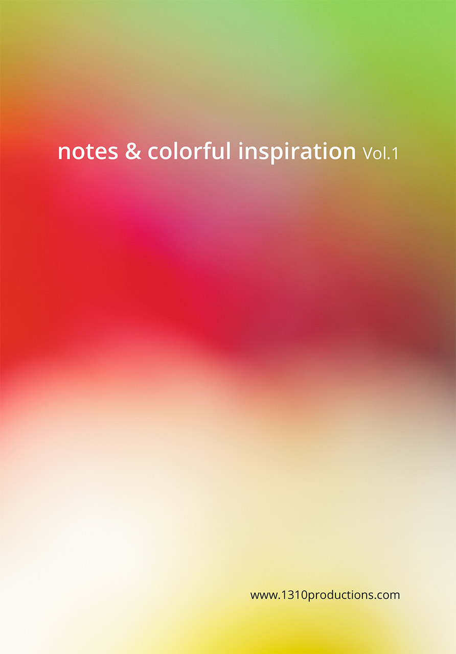 notes & colorful Inspiration Vol.1